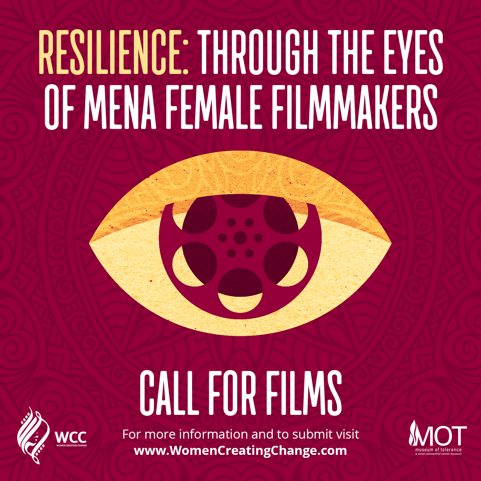 Call For Films: Submissions are now closed. Event details and tickets to be announced soon!